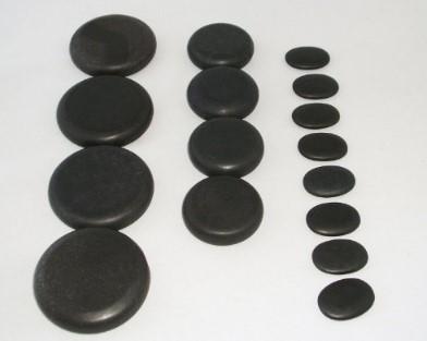 Zabrina Professional Large Basalt Massage Stone Set