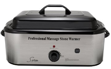 Sivan Health and Fitness 18 Quart Hot Stone Heater